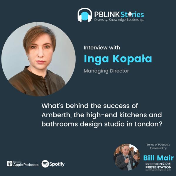 Podcast with Inga Kopala