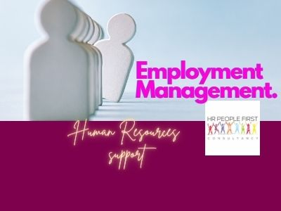 HR-People First Consultancy, employment management in London