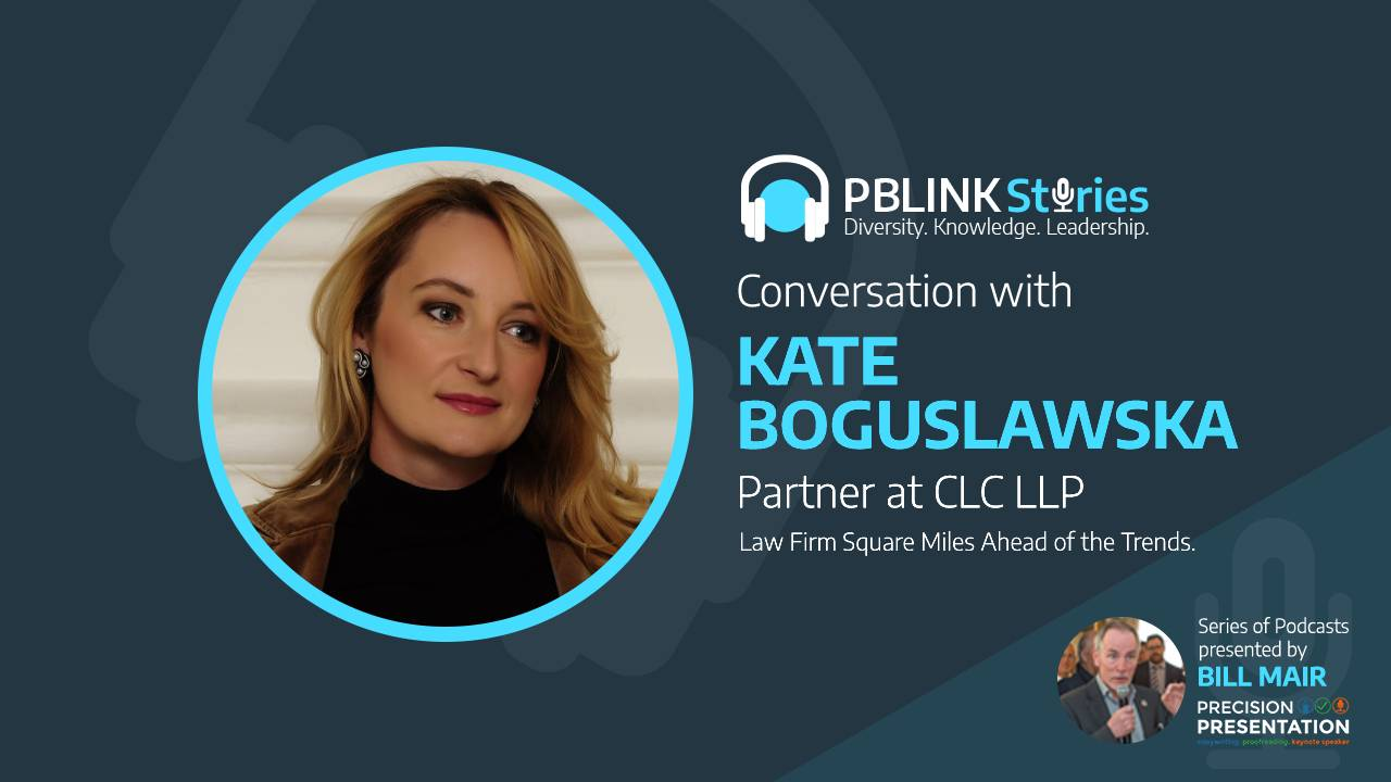 Kate Boguslawska talks about diversity and diligence in her career