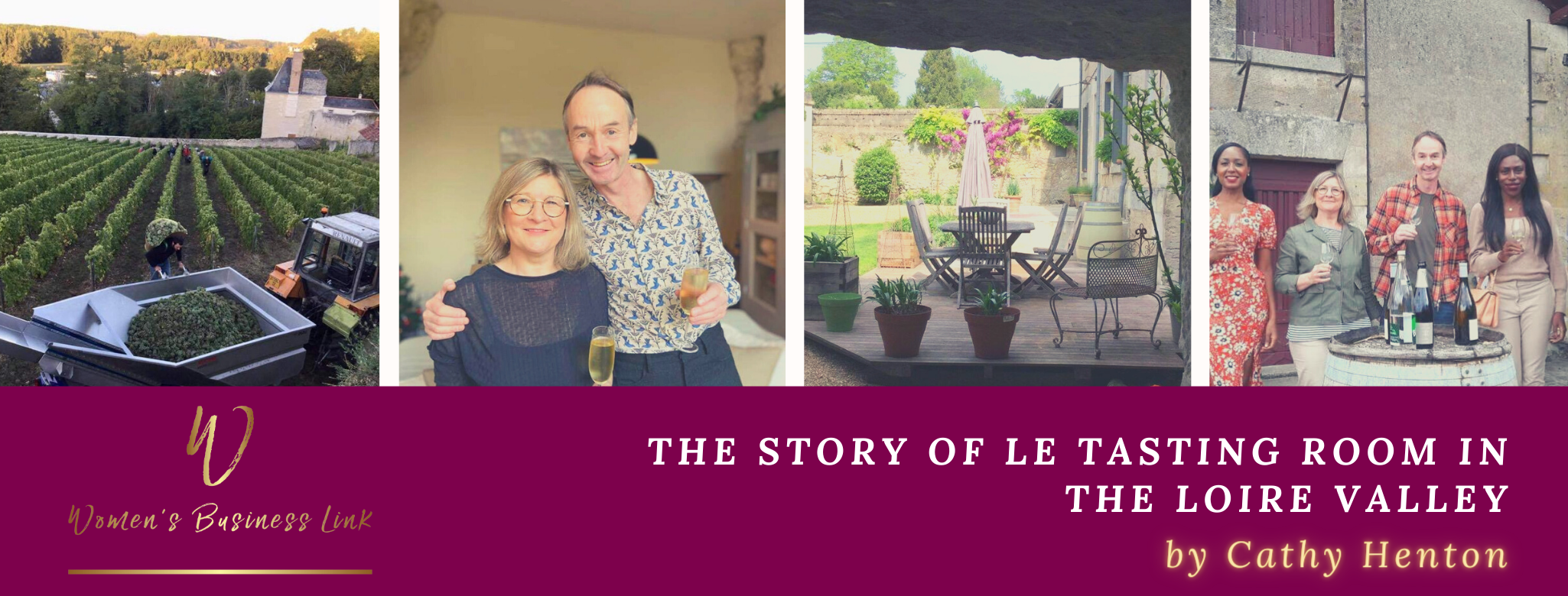The story of Le Tasting Room in the Loire Valley